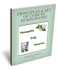 Principles and art of cure by Homeopathy
